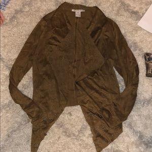 Brown Suede American Rag Jacket